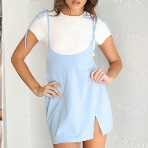 Tigermist Clara Pini Dress Baby Blue NWT